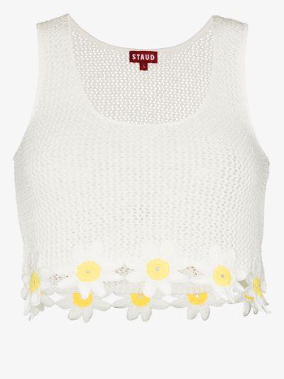 portofino crochet crop top