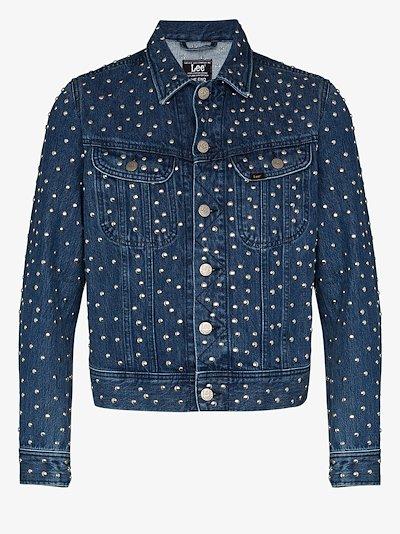 X Lee studded denim jacket