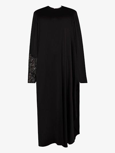 Aliyah crystal embellished maxi dress