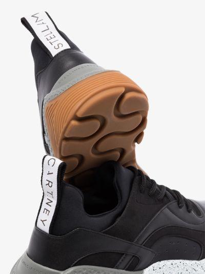 black Eclypse low top sneakers