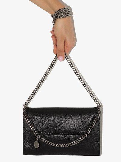 black falabella mini cross body bag