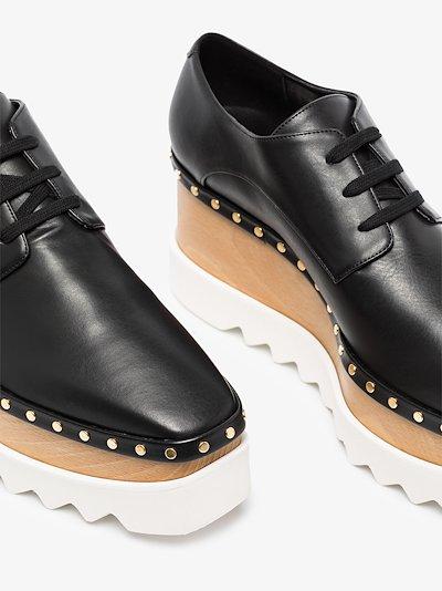 Elyse studded platform shoes