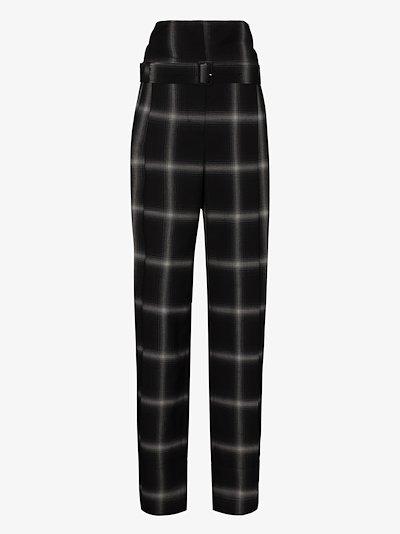 Harley high waist wool trousers