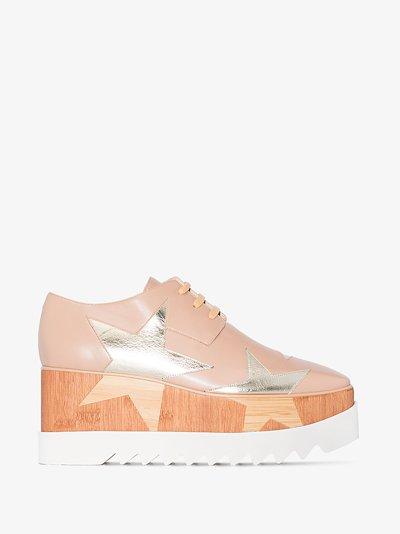 neutral Elyse 80 platform sneakers