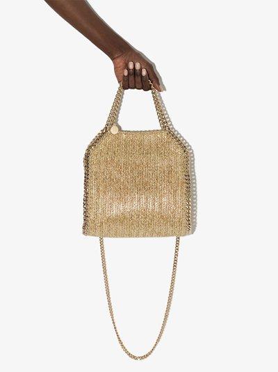 neutral Falabella mini tote bag