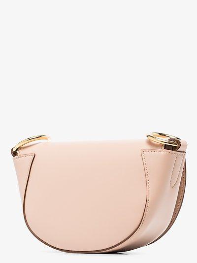 pink Marlee mini logo shoulder bag