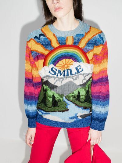 Smile rainbow sweater