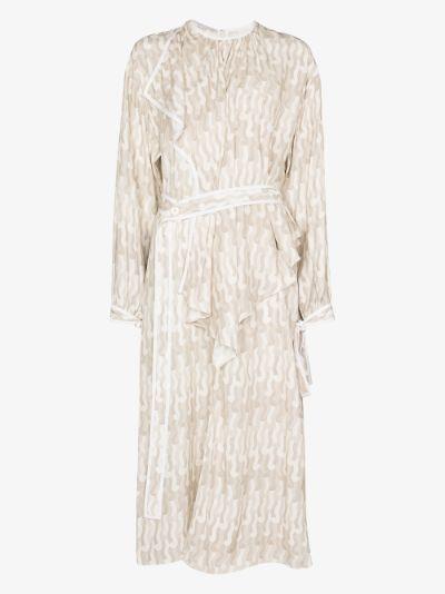 Taylor asymmetric silk dress