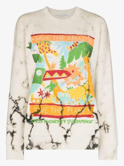 X Greenpeace Save the Amazon sweatshirt