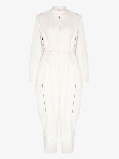 zip detail jumpsuit