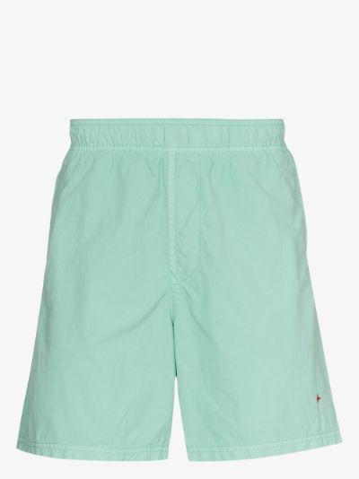 elasticated track shorts