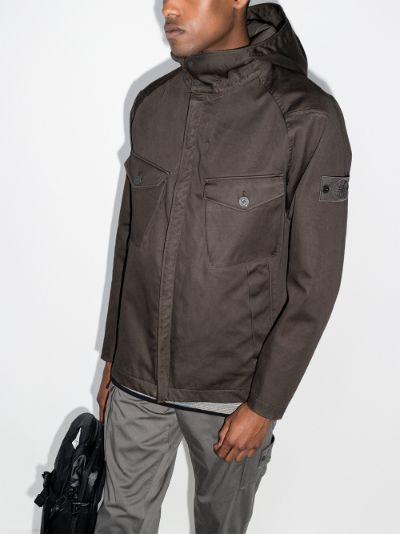 Ghost hooded jacket