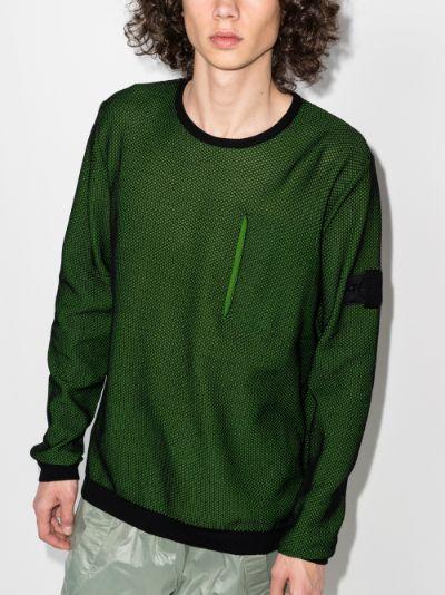 light mesh knit sweater