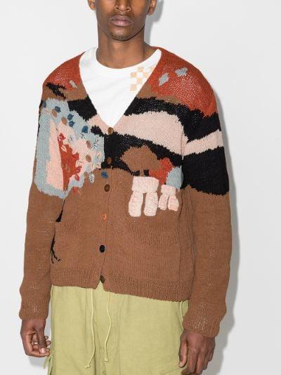 exclusive Keeping Midlight organic cotton cardigan