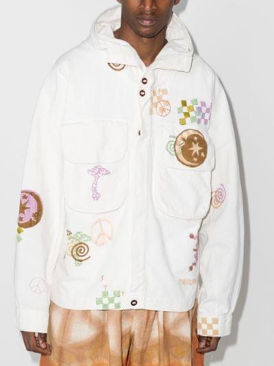 Forager Spiral Trip hooded jacket