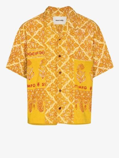 Greetings Jackfruit cotton shirt