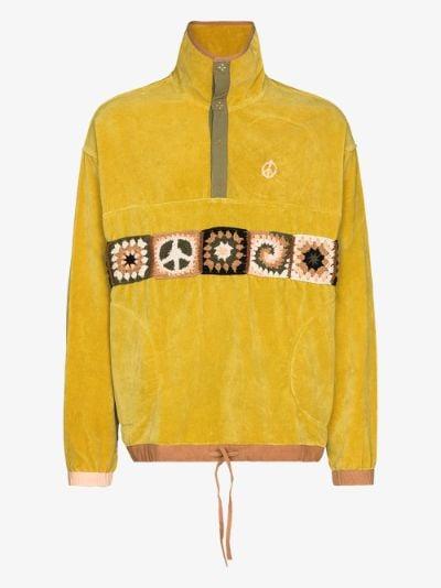 Polite organic cotton sweater