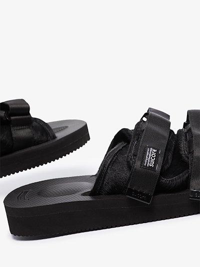 black OG-056 VHL sandals