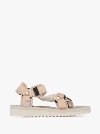 neutral DEPA-V2NU strap sandals