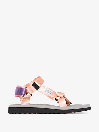 pink DEPA-Cab strap sandals