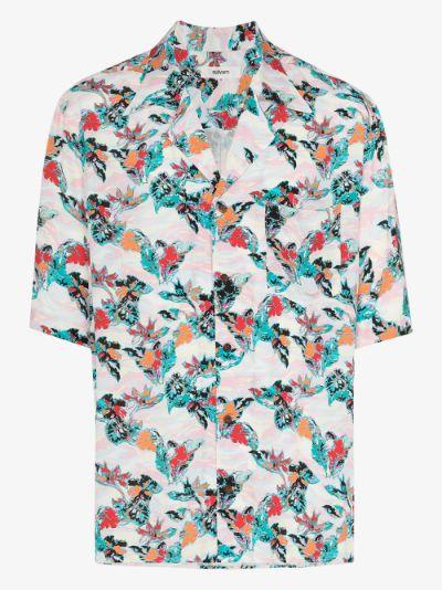 Aloha print shirt