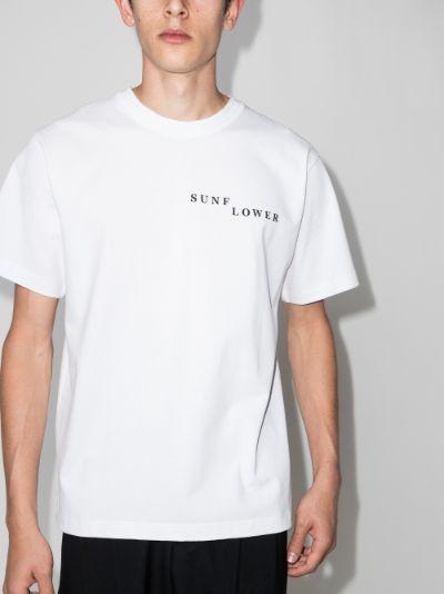 Broken Logo Print T-shirt