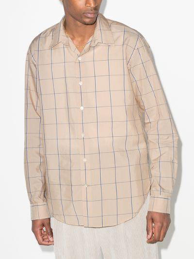 Dan long sleeve check shirt