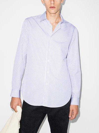 dan striped cotton shirt