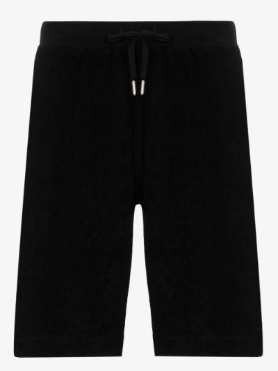 cotton track shorts