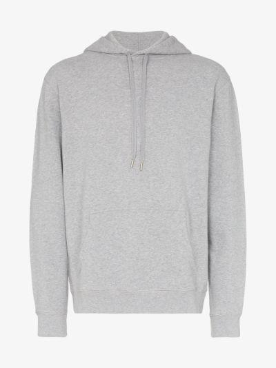 loopback cotton hoodie