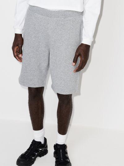 loopback cotton shorts