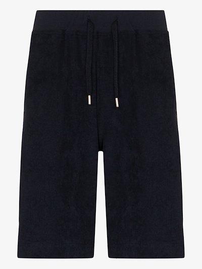 Organic cotton towelling shorts