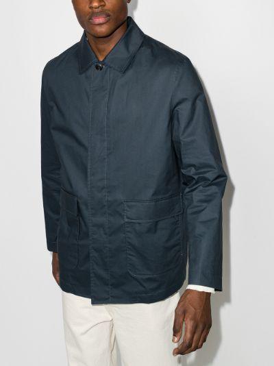 Patch Pocket Wax Jacket