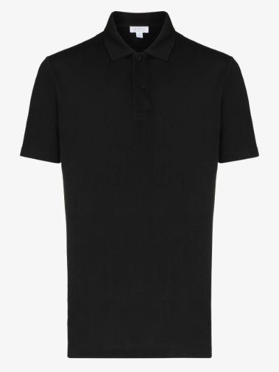 Riviera cotton polo shirt