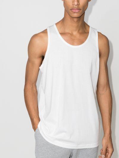 Superfine cotton vest top