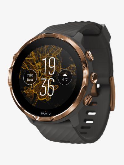 Grey 7 graphite smartwatch
