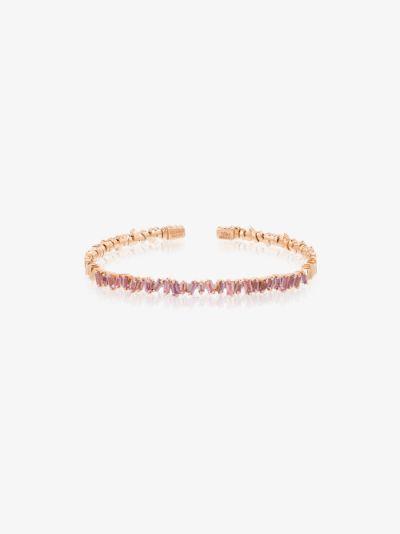 18K rose gold Fireworks sapphire bracelet