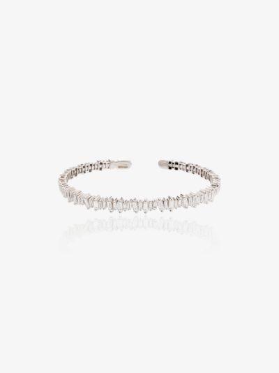 18K white gold Classic Fireworks diamond bracelet