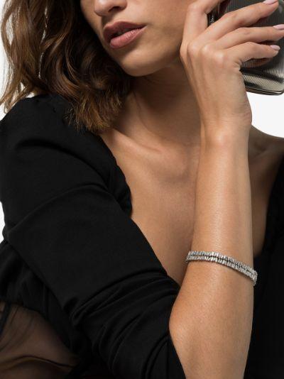 18K white gold Fireworks diamond bracelet