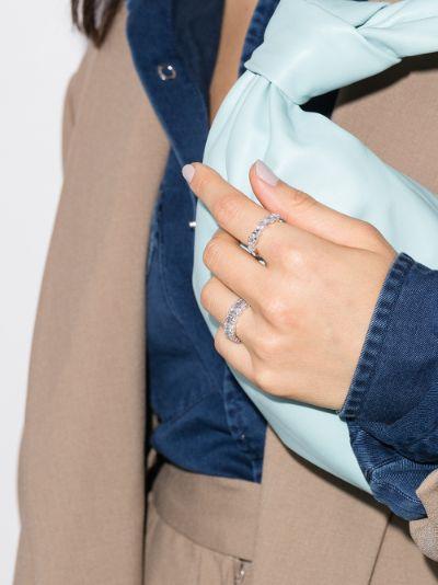 18K white gold Icon diamond ring