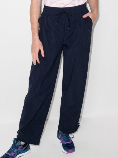 Air Flow wide leg track pants