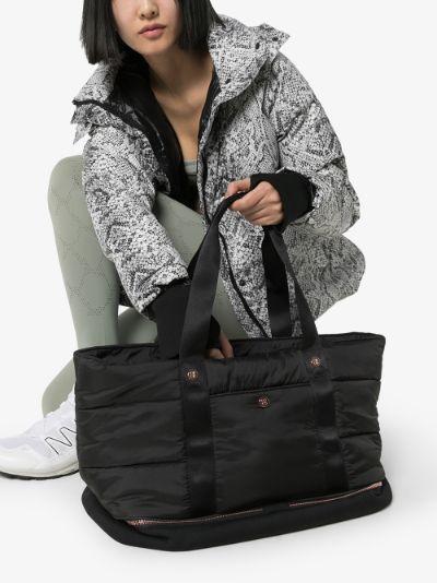 black Icon workout bag