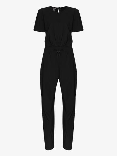 Explorer tie waist jumpsuit