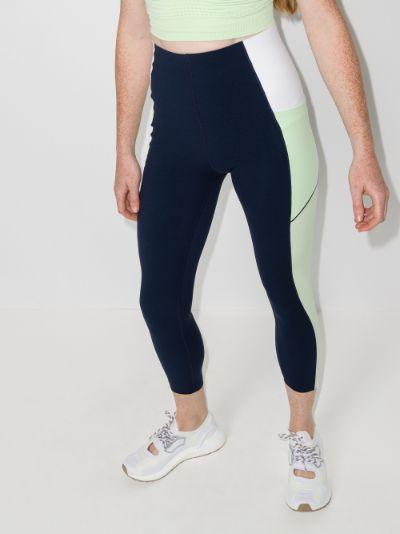 Power 7/8 colour block leggings