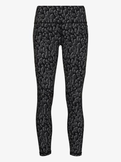 Power 7/8 leopard print leggings