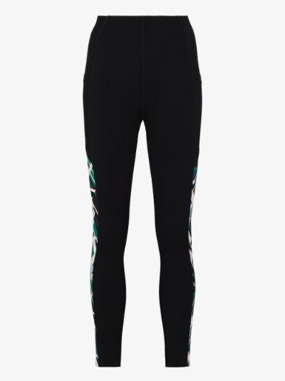 power panelled 7/8 leggings