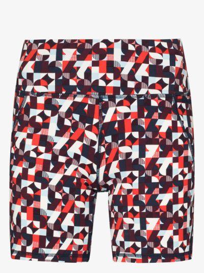 Power printed cycling shorts