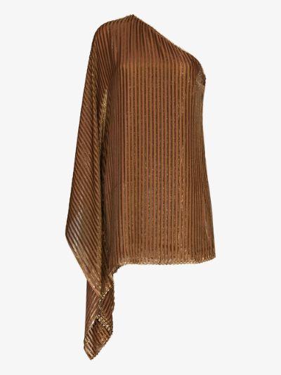 Bo Bardi one shoulder dress