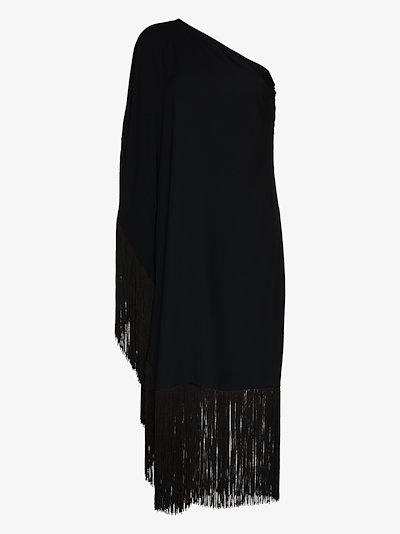 Piccolo Ubud One Shoulder Tassel Dress