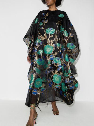 Spring kaftan dress